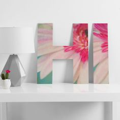 Lisa Argyropoulos Blushing Moment Decorative Letters | DENY Designs Home Accessories