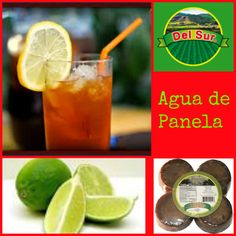 "Aguapanela or Agua de Panela translates to ""panela water"" and is a traditional and popular Colombian drink. It can be served hot or cold. Aguapanela with lime juice  is great as medicine for the flu :)  and is great for hot summer days. Panela is a product that is made with sugarcane, it is sweet and brown, is sold in blocks or grated and the flavor is similar to that of brown sugar. Panela is also known in Venezuela papelón, in Mexico as piloncillo, and in Ecuador, Perú and Bolivia as…"