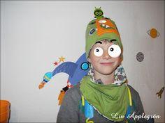Gruselig: Monstazzz-Mütze mit Alien
