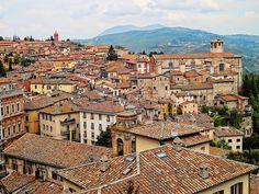 Beautiful Perugia roof tops