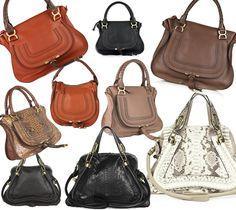 I love Chloe handbags, simple yet perfect little details