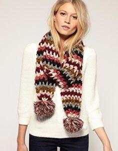 More crochet scarves