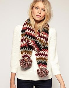More crochet scarves...I need to learn to knit this