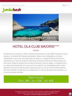 Oferta en Mallorca, htl Ola Club Maioris 4* TI dsd 38€pax/día ultimo minuto - http://zocotours.com/oferta-en-mallorca-htl-ola-club-maioris-4-ti-dsd-38epaxdia-ultimo-minuto/