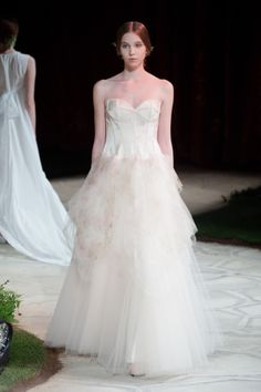 Beautiful wedding dresses from the David Fielden La Sposa 2015 collection - visit davidfielden.co.uk.