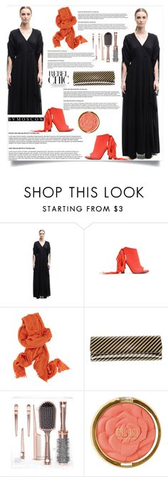 """""""SVMoscow 18/20"""" by mell-2405 ❤ liked on Polyvore featuring Gareth Pugh, A.F. Vandevorst, Ann Demeulemeester, Balenciaga and Milani"""