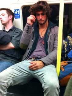 Alex Libby - If he was sitting across from me on the subway, I would freak the F out.