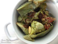 Alcachofas a la catalana. Receta con fotos del paso a paso de la elaboración. Trucos y consejos de presentación y degustación. Recetas de verduras