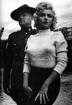 Marilyn Monroe cropped tricot