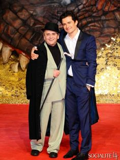 Sylvester McCoy & Orlando Bloom - Celebrities Attend 'The Hobbit: The Desolation Of Smaug' Premiere In Berlin
