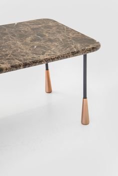 Baio, coffee table designed by Calvi Brambilla for Pianca, 2018.