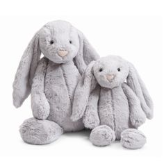 JELLYCAT - Bashful Grey Bunny...Morgan has 4 of these bunnies!!