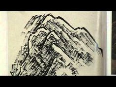 What is Ax or Axe Cut Strokes and How to do it in Chinese Landscape Painting (1/3) - YouTube