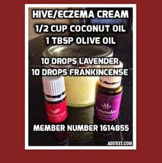 Hive eczema cream