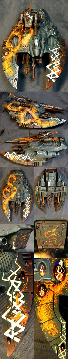 40k - Eldar Wave Serpent