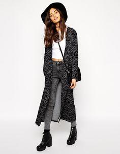ASOS+Maxi+Baroque+Jersey+Blazer