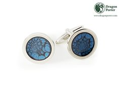 #cobaltblue #accesory #businesslook #elegantcufflinks #sapphureinsilver