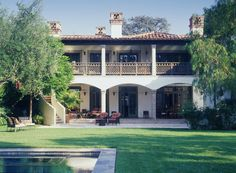 Rear View - Spanish Colonial designed by Thomas Callaway
