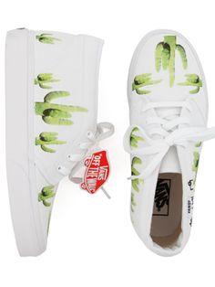 Crybaby Presents x Vans wicked shoes #cartonmagazine #vans #cactus