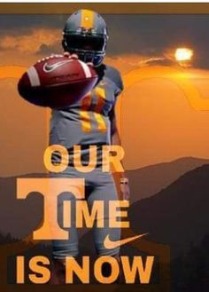 Ye but for broncos Tn Vols Football, Tennessee Volunteers Football, Football Signs, Tennessee Football, Football Quotes, College Football Teams, Oregon Ducks Football, Football Sister, Football Uniforms