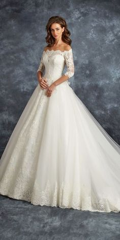 White bride dresses. Brides want to find themselves having the most suitable wedding, but for this they need the best bridal wear, with the bridesmaid's dresses complimenting the brides dress. The following are a variety of suggestions on wedding dresses.