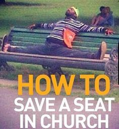 "You always saved seats for your youth club friends in church. | 17 Things You'll Get If You Grew Up Going To A ""Cool"" Church"