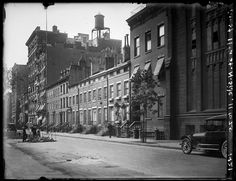 11-25 West 11th Street, north side. Date: 1921