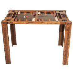 Vintage Backgammon Game Table | 1stdibs.com