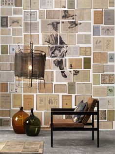 Biblioteca wallpaper by Ekaterina Panikanova + NLXL - Rockett St George