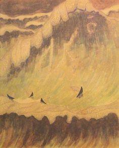 Sonate van de Zee: Finale  -  Mikalojus Konstantinas Čiurlionis   1908  Lithuanian 1875-1911