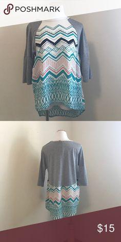 NWOT Jolt High low 3/4 sleeve shirt. NWOT Jolt High low 3/4 sleeve shirt. Jolt Tops Tees - Short Sleeve