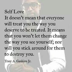 Self love ... something that takes some time to do after NPD abuse.