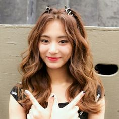 Find more awesome images on PicsArt. K Pop, Hairstyles With Bangs, Girl Hairstyles, Kpop Hairstyle, Tzuyu Twice, Wattpad, Celebs, Celebrities, Poses