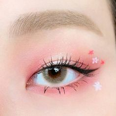 Eye Makeup Designs, Eye Makeup Art, Eyeshadow Makeup, Makeup Inspo, Makeup Inspiration, Korean Eye Makeup, Asian Makeup, Ulzzang Makeup, Kawaii Makeup