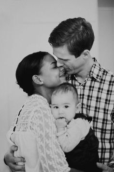 Beautiful interracial family photography #love #wmbw #bwwm