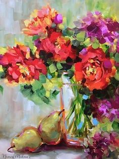 Orange Julius Parrot Tulips, 16X12, oil, the daily newbie in Flower Mound Studio