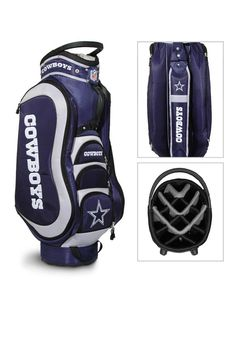 Dallas Cowboys Medalist Golf Cart Bag http://www.rallyhouse.com/shop/dallas-cowboys-dallas-cowboys-medalist-golf-cart-bag-1391164 $219.99