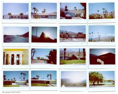 Palm Springs Polaroid Project.