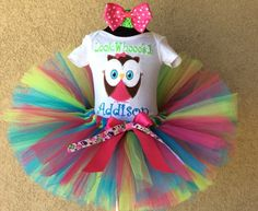 Fruit Punch Owl Girls 1st Birthday Tutu Outfit