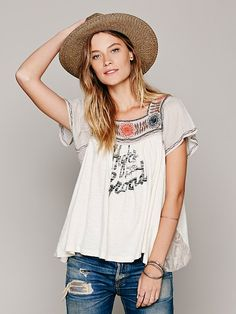 Free People We The Free Anas Graphic Tee, $98.00