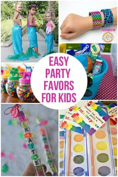 easy party favors for kids