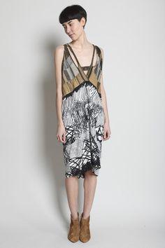 Boessert Schorn    Hole Yoke Dress