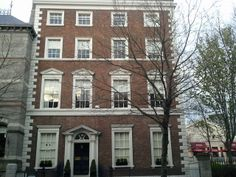 19 Dawson Street, Dublin, Ireland, mid-18thC. Since 1851 home of the Royal Irish Academy. Image: Irish Georgian Society Newsletter, 17 April, 2014.