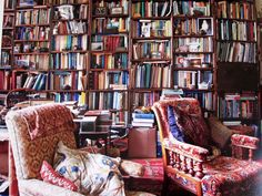 Ben Pentreath's English Decoration pg. 64 #library #bookshelve #books