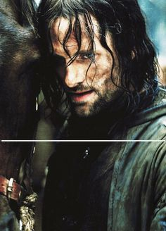"""I am Aragorn son of Arathorn and am called Elessar, the Elfstone, Dunadan, the heir of Isildur Elendil's son of Gondor. Here is the Sword that was Broken and is forged again! Will you aid me or thwart me? Choose swiftly!"""