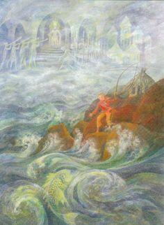 Van de visser en zijn vrouw - Grimm
