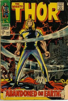 OORGO Thor #145, Stranded on Earth