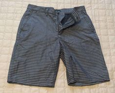 #Hurley hybrid shorts size 30 gray color 60% cotton 40% polyester NEW (no tags) visit our ebay store at  http://stores.ebay.com/esquirestore
