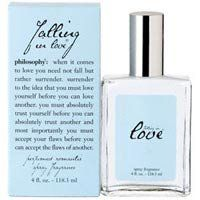 Philosophy Falling In Love Spray Fragrance. The only perfume I wear!!!