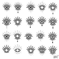 Best Eye Tattoo Meaning Hamsa Hand Ideas tattoo old school tattoo arm tattoo tattoo tattoos tattoo antebrazo arm sleeve tattoo Mini Tattoos, Flash Tattoos, Small Tattoos, Ojo Tattoo, Tattoo Dotwork, Tattoo Ink, Sanskrit Tattoo, Blue Tattoo, Piercings